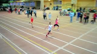 Финал на 60 м Девушки 3