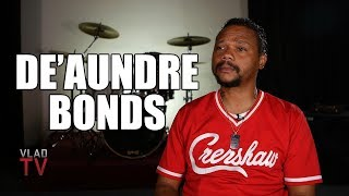 De'Aundre Bonds on Going Back to Prison for 21 Months After Getting Caught with a Knife (Part 10)