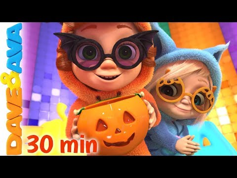 🤡 Halloween Songs and Nursery Rhymes by Dave and Ava | Halloween Songs for Kids 🤡