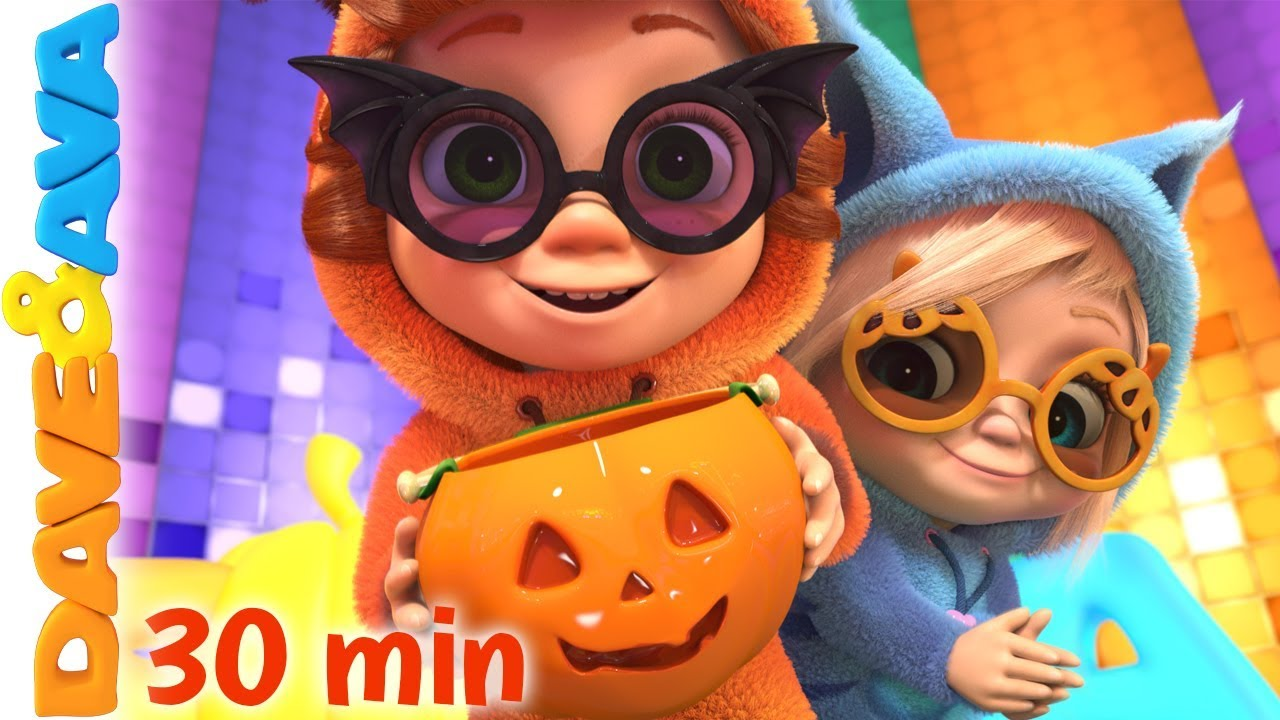 Dave In Halloween 2020 🤡 Halloween Songs and Nursery Rhymes by Dave and Ava | Halloween