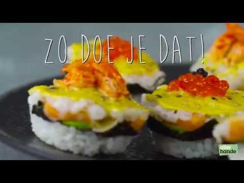 Sushi cupcakes - Allerhande