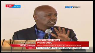 MOI IN EMBU: Senator Gideon Moi talks about the benefits of quality education in Kenya
