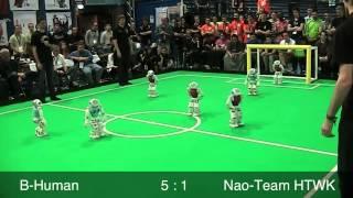 B-Human vs. Nao-Team HTWK, RoboCup 2013, SPL Final, 2nd Half