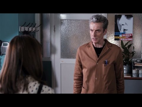 The Doctor goes undercover  The Caretaker: P  Doctor Who: Series 8 Episode 6  BBC One