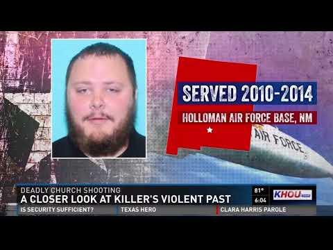 A closer look at Devin Kelley's violent past