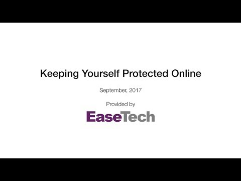 Keeping Yourself Protected Webinar [Recording]