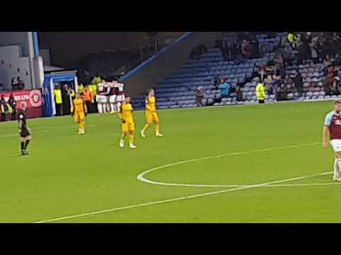 Burnley vs Brighton James Tarkowski goal