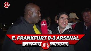 E. Frankfurt 0-3 Arsenal | Saka Deserves To Start More Than Ozil!
