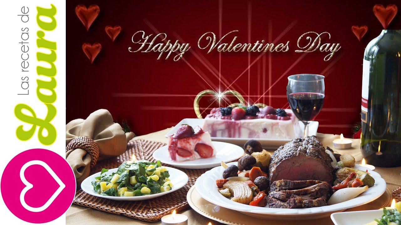 Cena romantica de san valentin ideas san valentin for Platos para una cena romantica