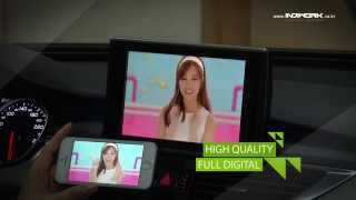 HD-LINK IW04A for AUDI A6 Smartphone Mirroring system by 인디웍 indiwork