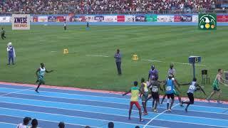 Team SA wins Men's 4x400m heat 1 at the 2018 African Athletics Championships Asaba