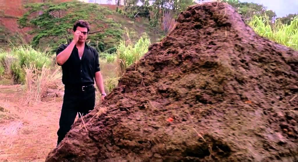 What Jurassic Park's Pile Of Poop Is Really Made Out Of