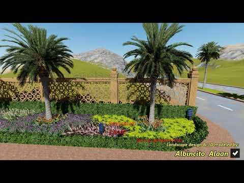 Arabic Villa Landscape design