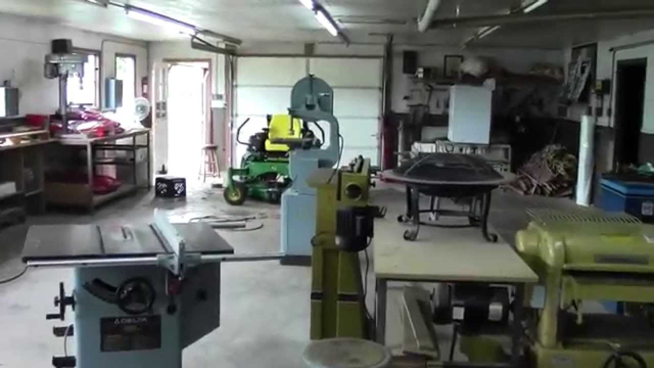 For Sale Wood Shop Equipment Tennessee Youtube