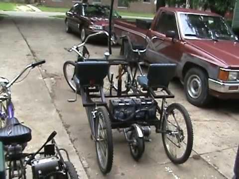 Electric 4 Wheel Bike Youtube