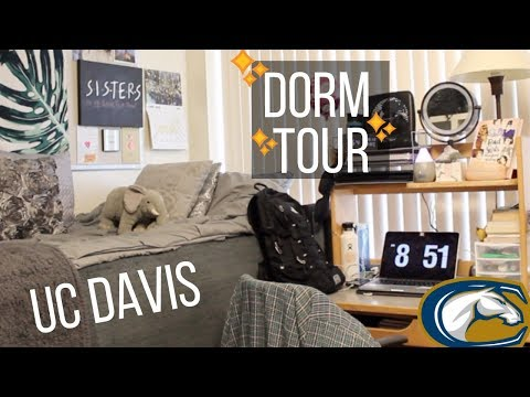 UC DAVIS DORM TOUR 2018!