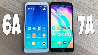 Xiaomi Redmi 6A vs Huawei Honor 7A - ЧТО ВЫБРАТЬ? СРАВНЕНИЕ