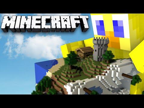 Minecraft Sky Cube Ep 2 - I BROKE THE WORLD
