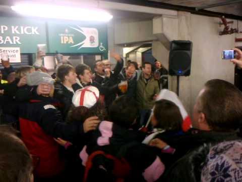 karaoke after twickenham rugby