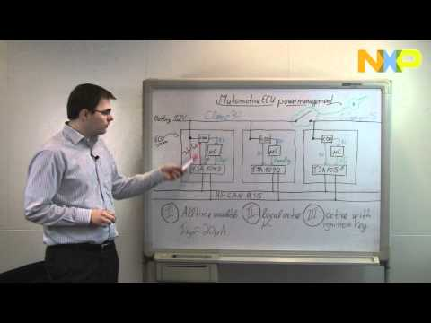 Automotive ECU power management (HS-CAN ECUs) - NXP Quick Learning 22