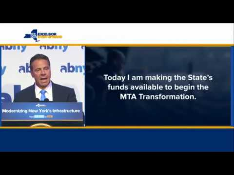 Governor Cuomo: We are Making State Funds Available Immediately for Subway Action Plan
