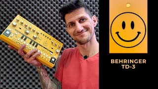 Behringer TD-3 Yellow Acid Edition | Josh Wink - Higher State - Part 1.
