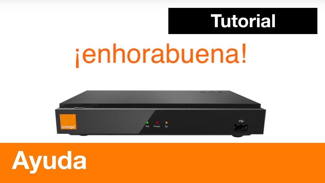 c mo instalar el nuevo descodificador de orange tv youtube. Black Bedroom Furniture Sets. Home Design Ideas
