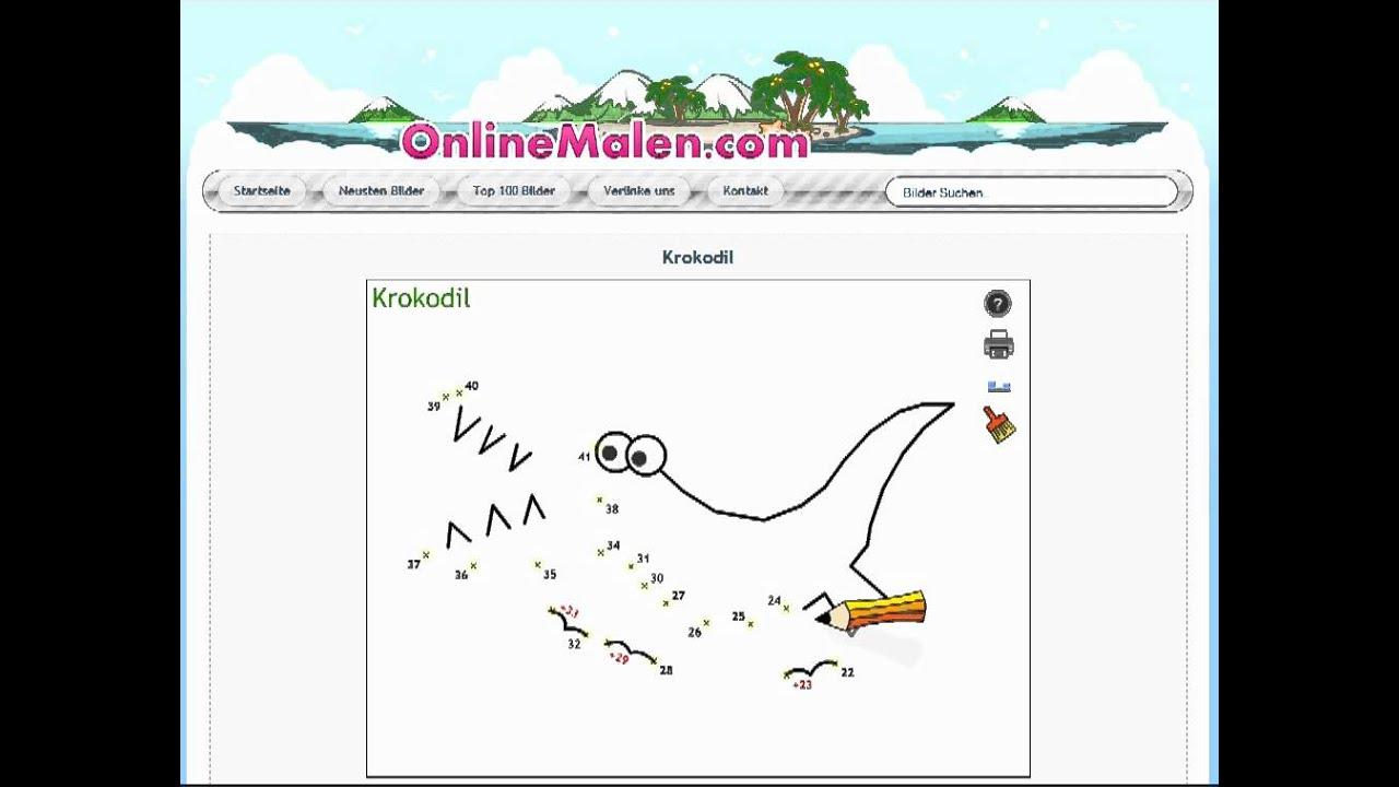Online malen nach zahlen kostenlos