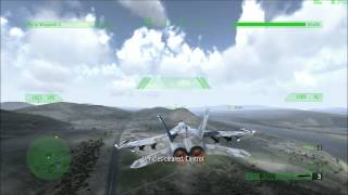 Jane´s Advanced Strike Fighters PC Gameplay GTX 580