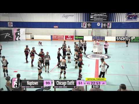Detroit G16: Naptown Roller Girls v Chicago Outfit