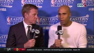 Richard Jefferson: LeBron James had a stomach bug in Games 3 and 4