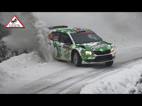 Oops Moment Evans & Veiby | SS.5 Rally Sweden 2017 [Passats de canto]