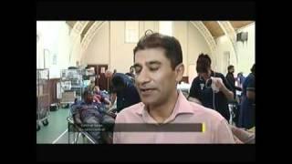 ITV Central News  - Ahmadiyya Muslim Blood Donation 08 08 2010.mp4