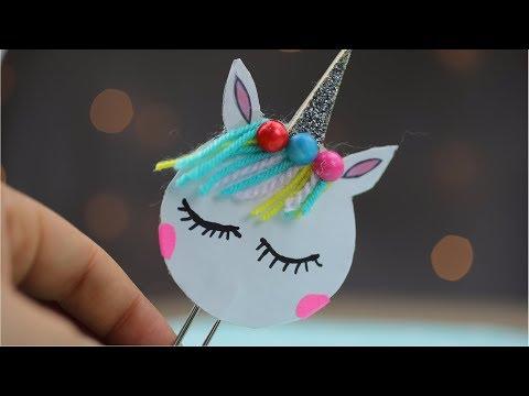 DIY Unicorn Bookmark | Easy & Cute School Supplies