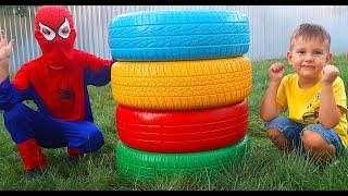 Сёма и Лёва занимаются спортом и хотят быть сильными с колесами