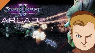 StarCraft 2 Arcade #424 - Until the dead the last chance of survival - Keep your Base alive - [HD]