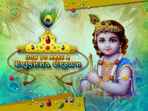 How to make Krishna's Crown - Art and Craft Ideas for Kids