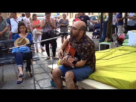 Piazza Dettori vie della musica  Cagliari