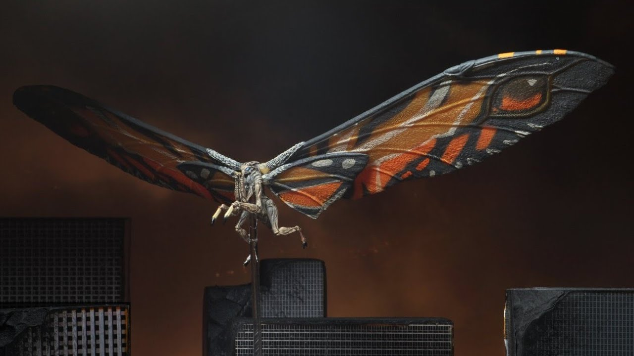 NECA Mothra 2019 official HD images - YouTube