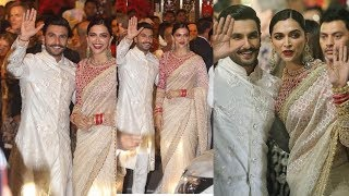 Newly Married Deepika Padukone and Ranveer Singh look so Sweet together for Isha Anand Wedding ❤