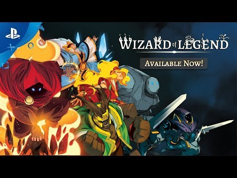 Wizard of Legend - Launch Trailer | PS4