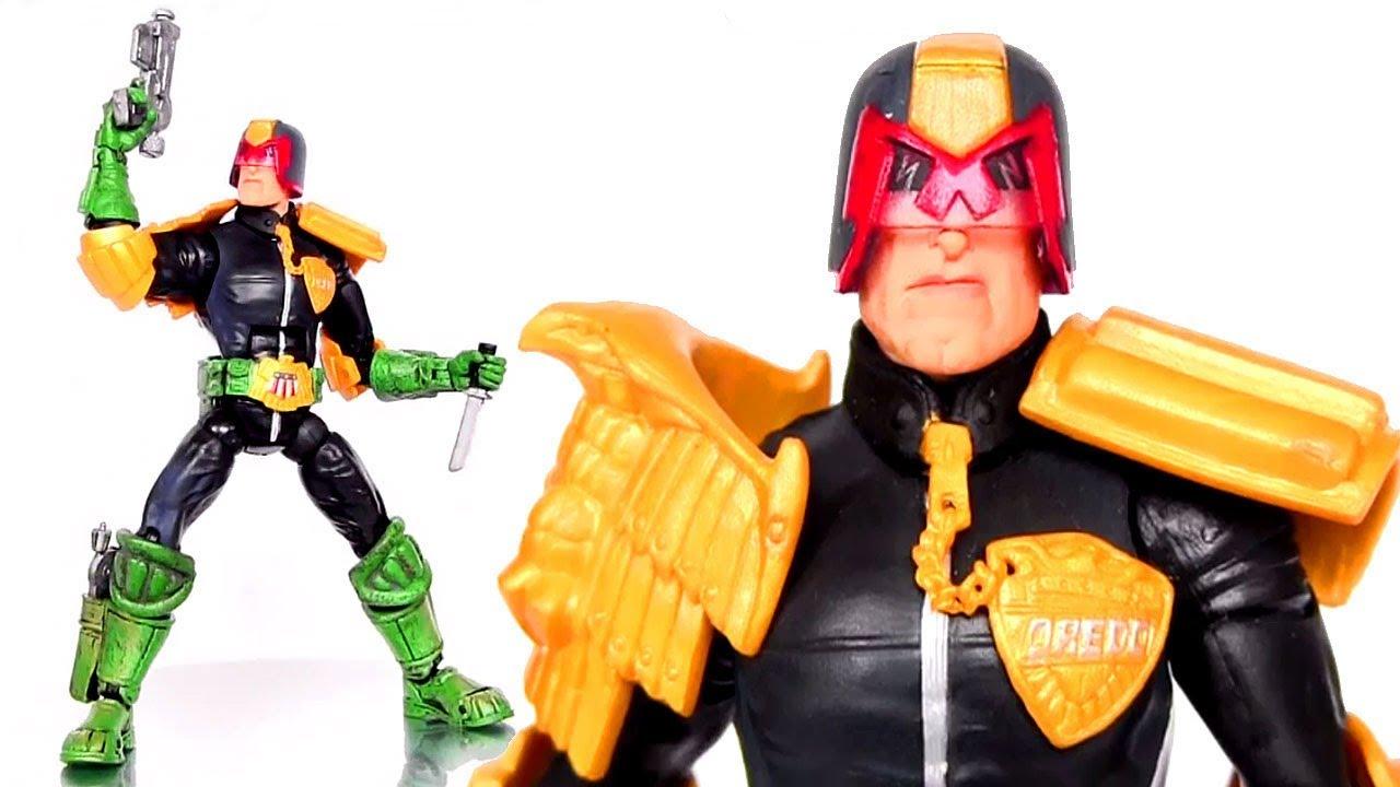 JUDGE DREDD Legendary Comic Book Heroes Action Figure ...