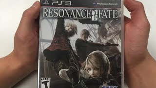 Resonance of Fate (PS3) Unboxing