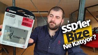 Bilgisayarları coşturan SSD'ler hakkında her şey! Kingston SSD Hediyeli