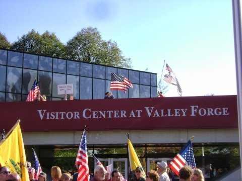 Government Shutdown: Veterans March on Valley Forge Park