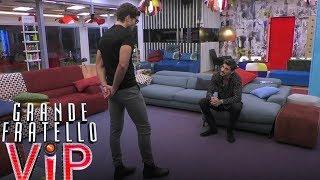 Grande Fratello VIP - Il confronto tra Elia e Francesco Monte