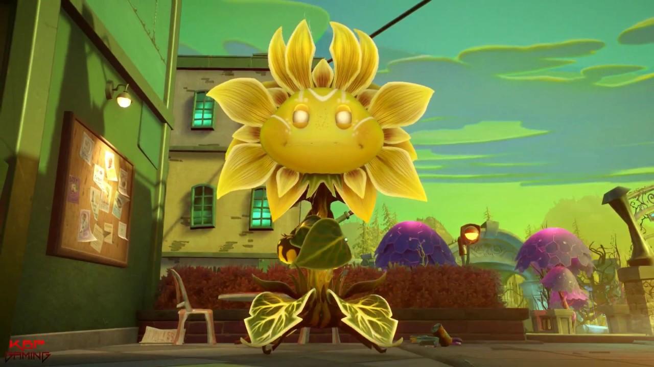 Sunflower Queen Giga Torchwood Super Bean Boss Fights
