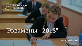 Александр Литвин о подготовке к экзаменам
