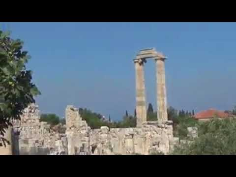 Apollo's Temple Bodrum Turkey / Ancient Greek Ruins Sightseeing  #TurkishAdventure