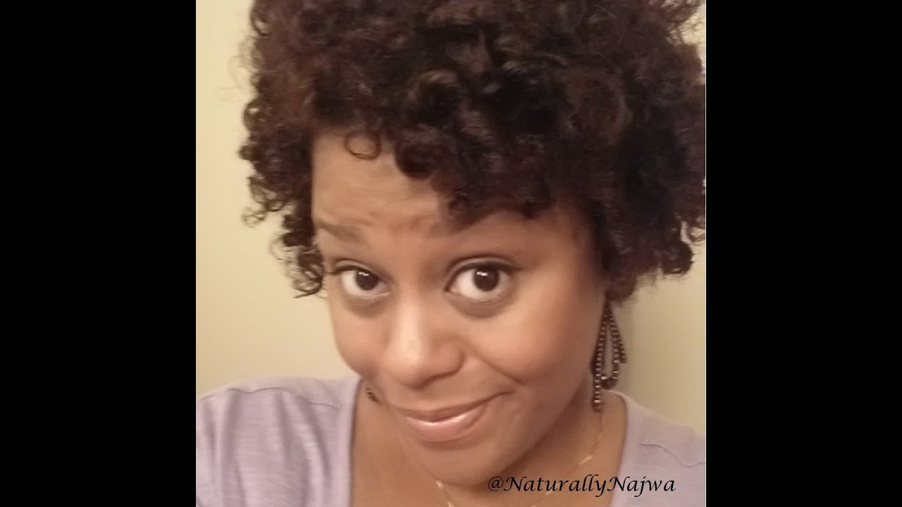 natural hair curlformers short